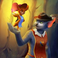 Tom and jerry by werur