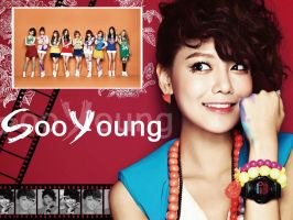 SNSD Casio Baby-G SooYoung ver. by ForeverK-PoPFan
