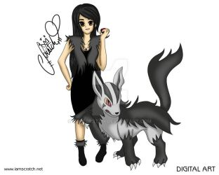 Mightyena and I by iamscratch