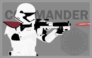 First Order Stormtrooper Officer by graphicamilitare
