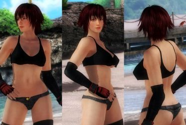 [HAIR] Mila Mid Short Red Hair by funnybunny666