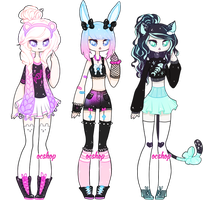 [OPEN] ADOPTABLE BATCH #18 by OCshop