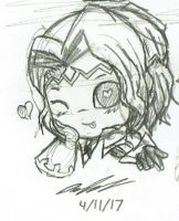 Chibi Spring! Xander by Mischief-Soul-Lover