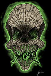 A Way To Die Skull by Laxus