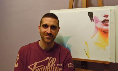 Me and my artwork by fabri360