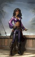 Captain On The Deck by SirTiefling