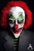Evil Clown by Prettyscary