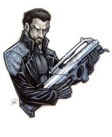 Deus Ex by AdamWithers