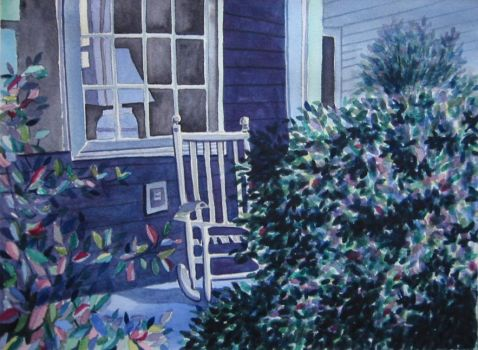 79. Chair on the Porch II by Masasasaki