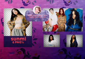 Sunmi #1 - png pack by Gangnam Girls by GangnamGirlx