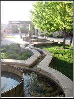 CSU Campus: The Fountain by KJanuary