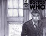sketchcover 11 Doctor Who by DennisBudd