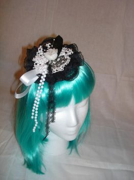 Sweet Gothic Lolita Lace Fasci by smallrinilady