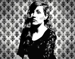 Jessy Lanza Portrait by boot-cheese-3000