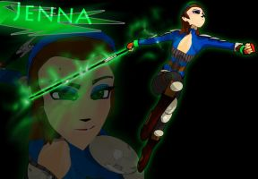 Jenna 3D by JPL-Animation