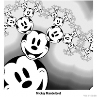 Mickey Mandelbrot by vcfgr