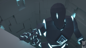 low poly - the void character by xxxscope001xxx
