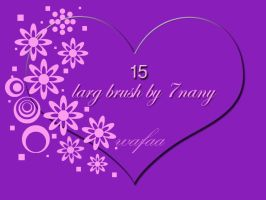 15 larg brush by 7nany