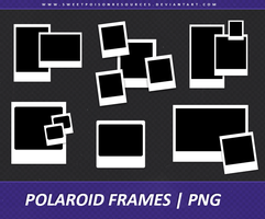 Polaroid Frames - PNG 003 by sweetpoisonresources