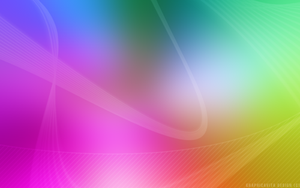 Soft Rainbow Wallpaper by graphicavita