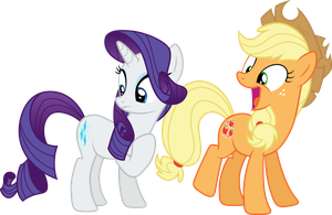 Rarity, Applejack - Mission Accomplished (S05E16) by DJDavid98