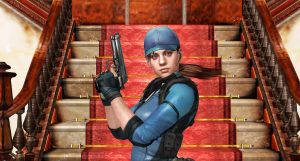 Jill Valentine-BSAA AGENT-2 by blw7920