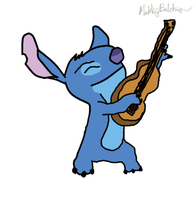 Stitch And His Guitar by MarkKB