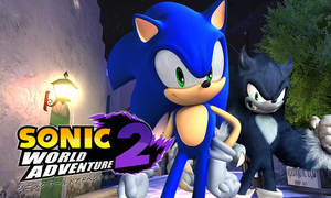 New Video! Sonic World Adventure 2 Logo by NuryRush