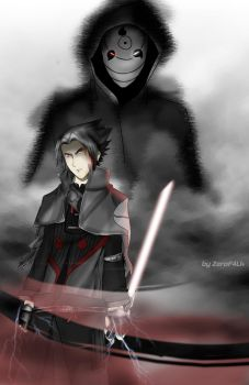 Use the force, Sasuke by Lincean