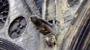 Gargoyle - Cathedral of Bayeux by UdoChristmann
