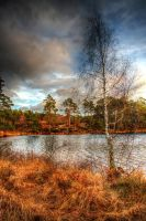 Autumnal lake02 by Enigmaticus
