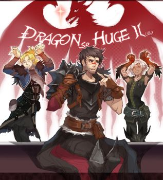dragon so huge by changcc