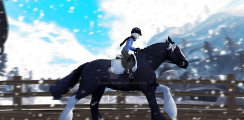 Star Stable Online - Heavy beauty by Amisuri