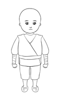 little monk lines by Yenga