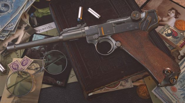 Luger P8 Ketzer by mrhd