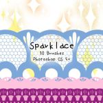 Sparklace Brushes by kabocha