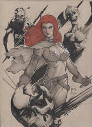 Red Sonja by MarioChavez