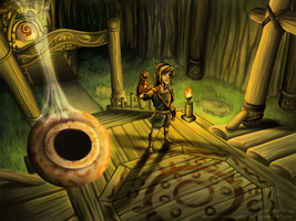 TP: The Forest Temple by WiggyBe