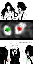 [ Doodle - Small Comic ] A father's gift by LiaWorlds