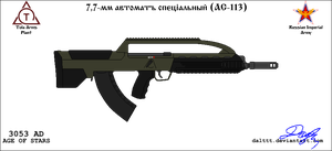 TOZ AS-113 Assault rifle by DaltTT