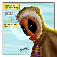 Deadpool  Cold as Ice by BouncieD