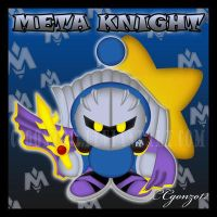 Meta Knight Chao by CCmoonstar23