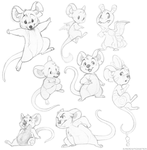 Sketchdump 6 by AidenMonster