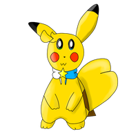 Hoshi the Pikachu! :3 by logical321