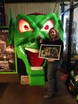 Myself with the Goblin From Maximum Overdrive 1 by Elita-One-Arts
