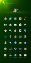 Icons for Windows Mobile 6.5 by zerode