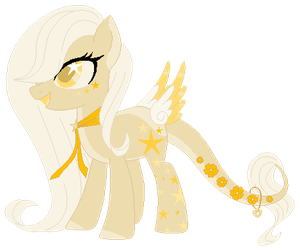:CLOSED: Gold Themed Lunar Wish Catcher Adoptable by WishingWellBro