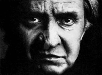 Johnny Cash by Doctor-Pencil