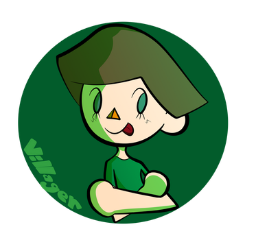 Green Villager by PlainPilot