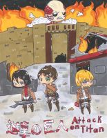 Attack on titan chibi project by LittleMuh